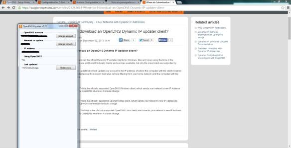 Como configurar o OpenDNS Passo17