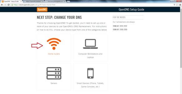 Como configurar o OpenDNS Passo6